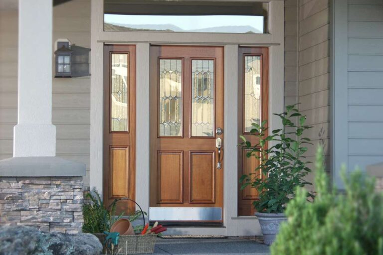 Tiara Decorative Rogue Valley Exterior Door
