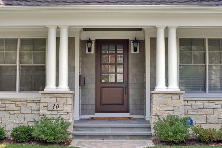 Glenview Front Entry Door Box Windows