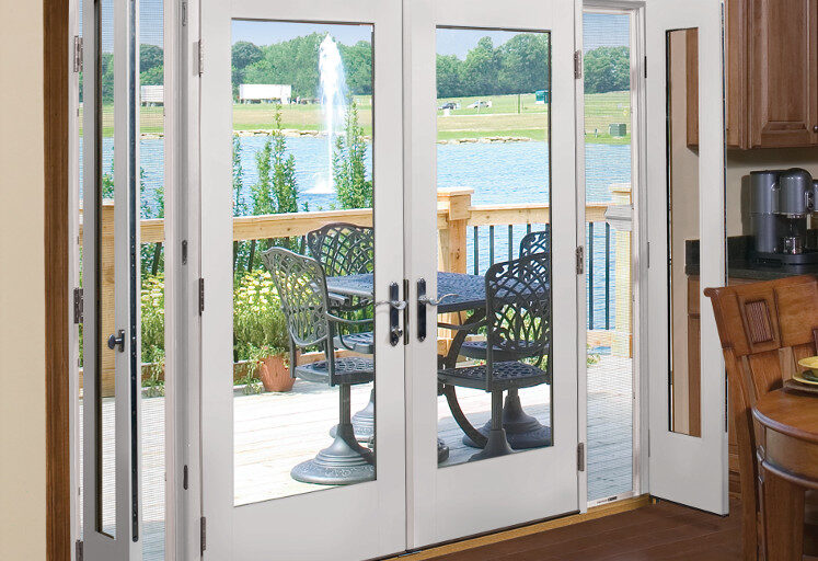 Therma-Tru Vented White Exterior Door