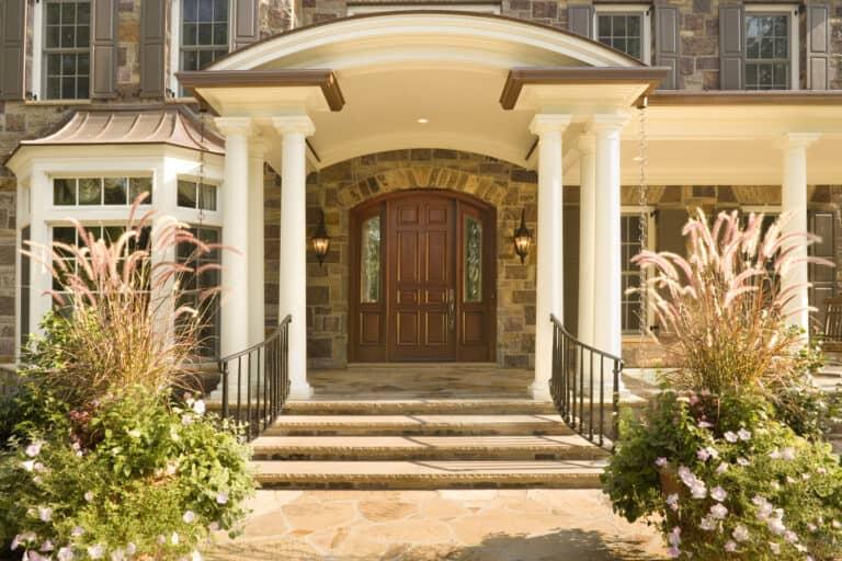 Jeld-Wen Exterior Doors - Mahogany 9ft Segment Top