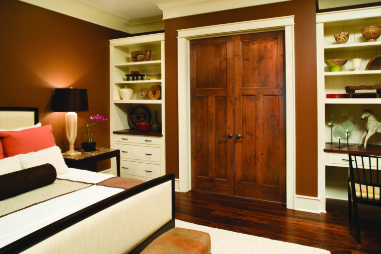 Jeld-Wen Interior Doors - Knotty Alder Master Bedroom