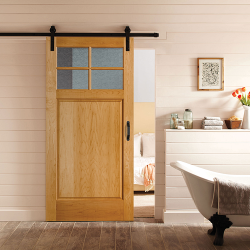 Masonite Interior Barn Door Delta Frost