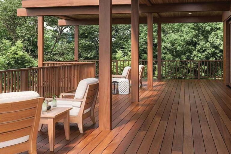IPE Deck with Pergola